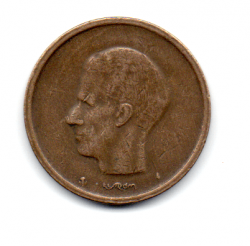 Bélgica - 1981 - 20 Francs - Legenda em Flamengo