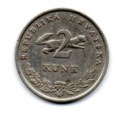 Croácia - 1993 - 2 Kuna
