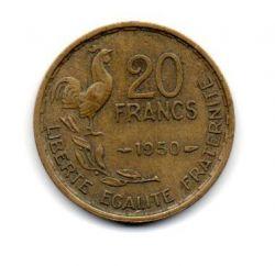 França - 1950 - 20 Francs