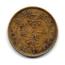 Hong Kong - 1964 - 10 Cents