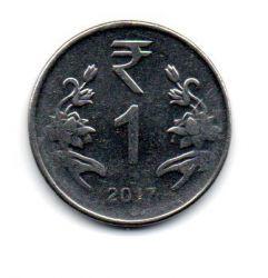 Índia - 2017 - 1 Rupee