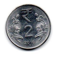 Índia - 2016 - 2 Rupees
