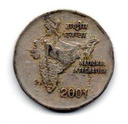 Índia - 2001 - 2 Rupees