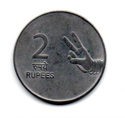 Índia - 2007 - 2 Rupees