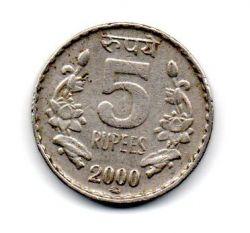 Índia - 2000 - 5 Rupees