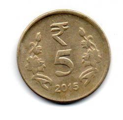Índia - 2015 - 5 Rupees