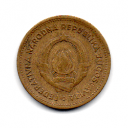 Iugoslávia - 1955 - 10 Dinara
