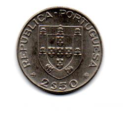 Portugal - 1977 - 2,50 Escudos Comemorativa (Centésimo aniversário de morte do escritor Alexandre Herculano)