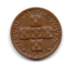 Portugal - 1953 - 20 Centavos (XX)