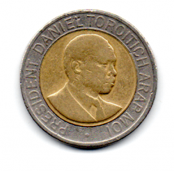 Quênia - 1998 - 20 Shillings
