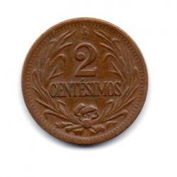 Uruguai - 1947 - 2 Centésimos
