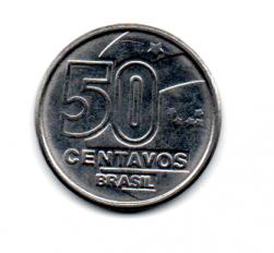 1990 - 50 Centavos - Moeda Brasil - Estado de Conservação: Soberba (SOB)