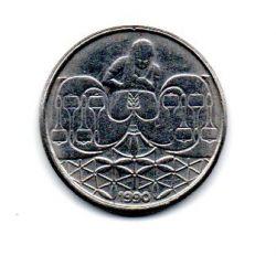 1990 - 50 Centavos - Moeda Brasil - Estado de Conservação: Muito Bem Conservada (MBC)