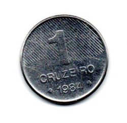 1984 - 1 Cruzeiro - Moeda Brasil - Estado de Conservação: Muito Bem Conservada (MBC)