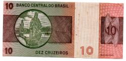 C140 - 10 Cruzeiros - Dom Pedro I - Data: 1980 - Estado de Conservação: MBC/Sob