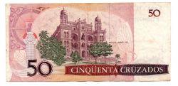 C182 - 50 Cruzados - Oswaldo Cruz - Data: 1986 - Estado de Conservação: MBC/Sob