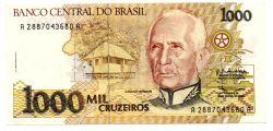 C217 - 1000 Cruzeiros - Cândido Rondon - Data: 1990 - Estado de Conservação: Soberba/Flor (Sob/Fe)
