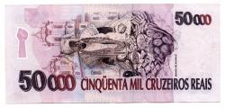 C240 - 50000 Cruzeiros Reais - Baiana - Data: 1994 - Sob