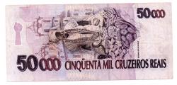 C240 - 50000 Cruzeiros Reais - Baiana - Data: 1994 - MBC/Sob