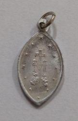 Medalha Religiosa - Comp 20mm - 10 mm largura