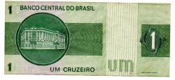 C131 - 1 Cruzeiro - Efígie da República - Data: 1975 - Estado de Conservação: MBC/Sob