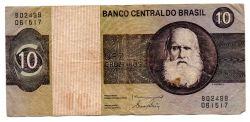 C140 - 10 Cruzeiros - Dom Pedro I - Data: 1980 - Estado de Conservação: Bem Conservada (BC)