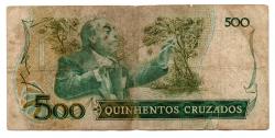 C190 - 500 Cruzados - Villa Lobos - Data: 1987 - Estado de Conservação: Regular (R)