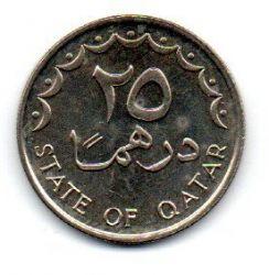 Qatar - 1997 - 25 Dirhams - Sob/Fc