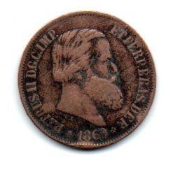 1869 - 20 Réis - Com Ponto - Moeda Brasil Império