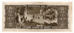 C065 - 5 Cruzeiros - 2° Estampa - Série 153 - Autografada / Assinada a Mão - Barão do Rio Branco - Data: 1950 - MBC/SOB