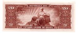 C086 - 20 Cruzeiros - 2° Estampa - Série 1183 - Rara - Marechal Deodoro da Fonseca - 1958 - FE