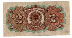 .R194a - 2 Mil Réis - 1° Estampa - Assinada a mão / Autografada - Série 6 - Prudente de Morais - Data: 1923 - MBC