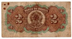 .R194a - 2 Mil Réis - 1° Estampa - Assinada a mão / Autografada - Série 88 - Prudente de Morais - Data: 1923 - BC