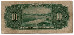 .R110c - 10 Mil Réis - 17° Estampa - Assinada a mão / Autografada - Série 379 - Campos Salles - Data: 1936 - BC