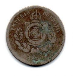 1886 - 100 Réis - Moeda Brasil Império