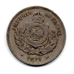 1871 - 200 Réis - Moeda Brasil Império