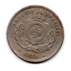 1888 - 200 Réis - Moeda Brasil Império
