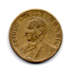 1947 - 20 Centavos - ERRO : Cunho Quebrado - Moeda Brasil