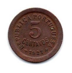 Portugal - 1927 - 5 Centavos