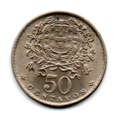 Portugal - 1966 - 50 Centavos