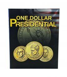 Álbum p/ Moedas -  Presidential One (1) Dollar - Estados Unidos - Vazio - P/ Dólar Presidentes