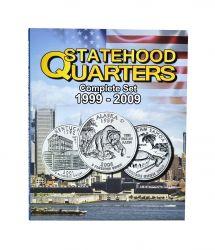 Álbum p/ Moedas -  Statehood Quarters (0,25 / Quarter Dollar) - 1999 a 2009 - Estados Unidos - Vazio