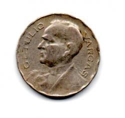 1938 - 200 Réis - ERRO : Cunho Quebrado - Moeda Brasil