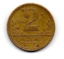 1942 - 2 Cruzeiros - Moeda Brasil
