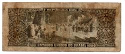 C071 - 5 Cruzeiros - 2° Estampa - Série 2585 - Numeração 000369 - Barão do Rio Branco - Data: 1962 - R